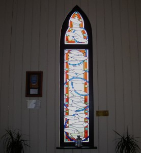 Norwegian church stained glass windows